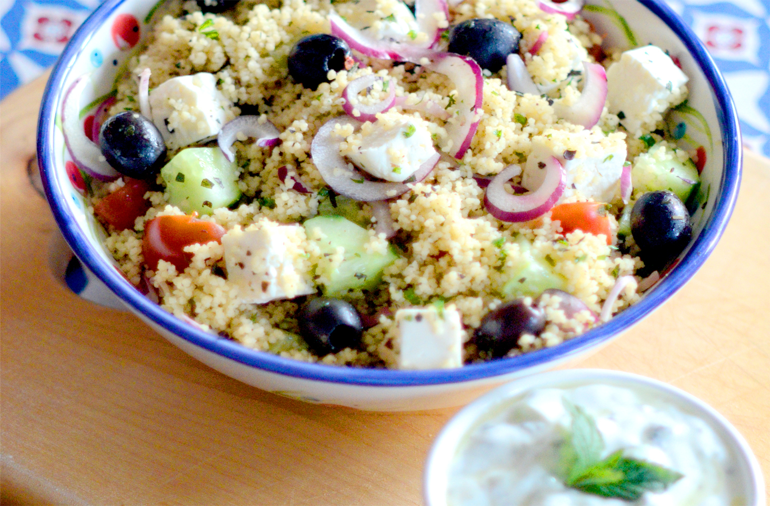 GREEK COUS COUS SALAD