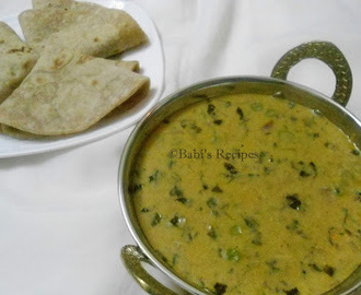 Methi Mattar Malai | Green Peas and Fenugreek Leaves in Cream Sauce | Side Dish for Roti/Naan