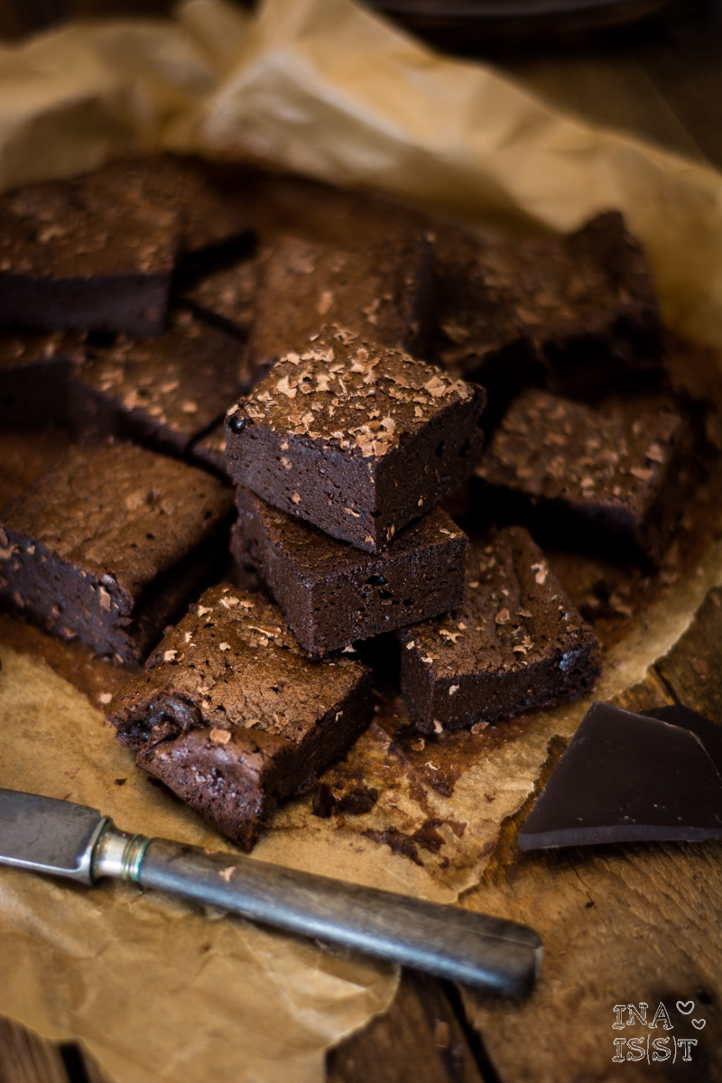 "Low Carb Backen - Saftige Brownies ""soft 'n' smooth"""