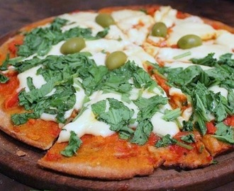 Receta de Pizza Integral