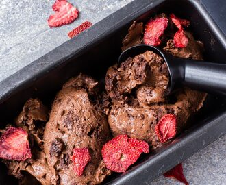 Thermomix Brownie Ice Cream