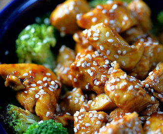 Skinny Orange Chicken Recipe