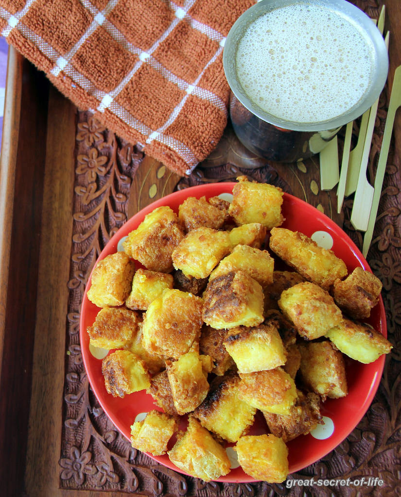 Crispy Tofu - Simple healthy snack recipe - Simple after school recipe - Kids friendly recipes - Party food