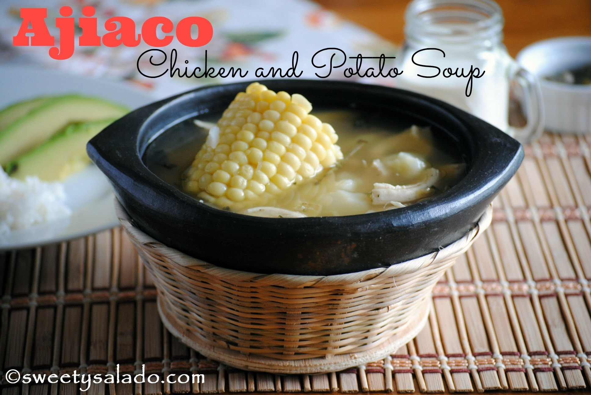 Ajiaco (Chicken and Potato Soup)