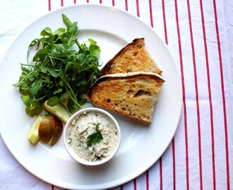 Smoked Mackerel Pate with Chives