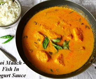 Fish In Yogurt Sauce – Bengali Doi Maach