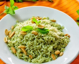 Nasi Pudina (Mint Rice)