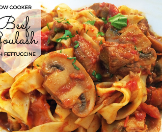Slow Cooker Beef Goulash Recipe