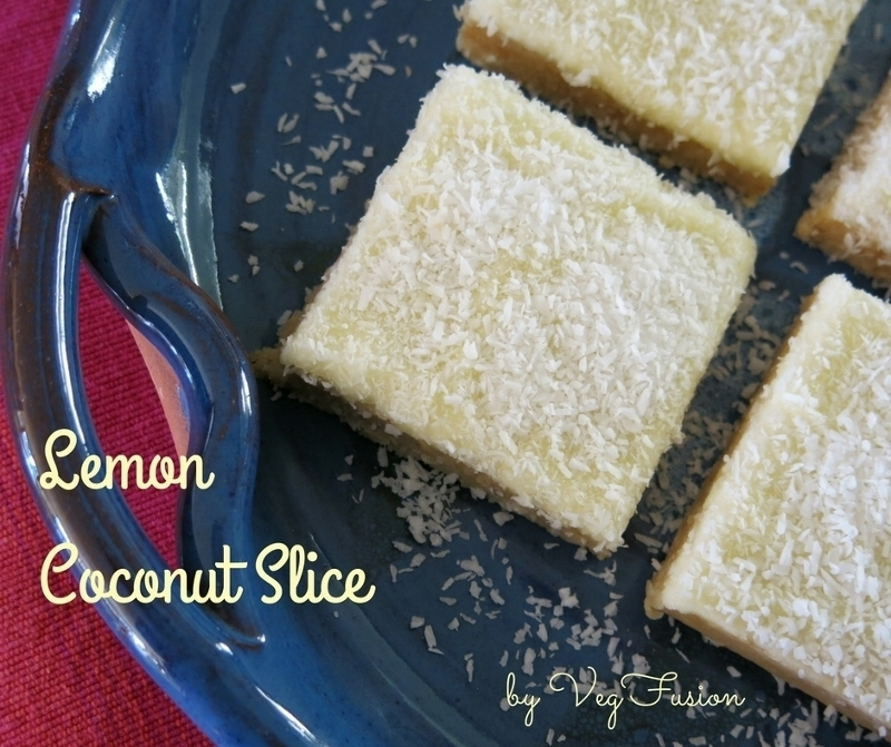 Recipe: The Mighty Lemon Coconut Slice