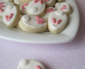 Easter Cookies - Adorable Bunnies