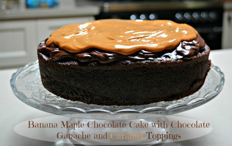 Chocolate Banana Maple Cake Recipe