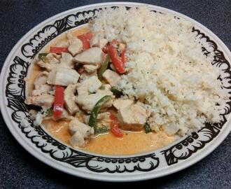 Red curry kylling