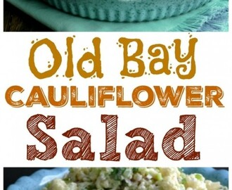 Old Bay Cauliflower Salad