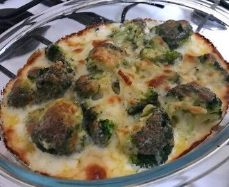 Recipe: broccoli cheese