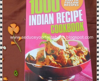 FR1 : 1000 Indian Recipe Cookbook - Book Review