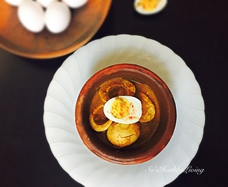 Mangalorean Egg Curry with coconut