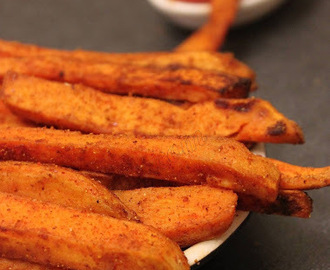 Sweet Potato Fries | Oven Baked Sweet Potato Fries