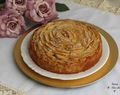 Bizcocho rosa de manzana – Rose apple cake