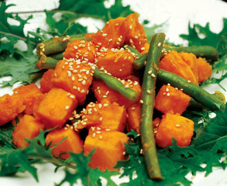 Sweet Potato and Green Bean Salad