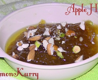 Apple Halwa:Dessert
