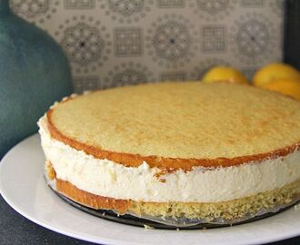 Lemon Mousse Cake