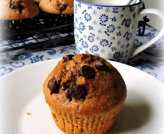 Barleycup & Chocolate Chip Muffins