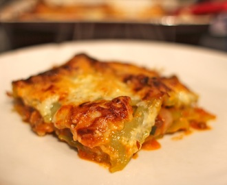 Vegetarian Lasagne for the whole family