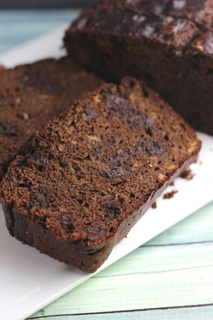 Paleo Double Chocolate Banana Bread