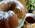 Coconut and Lime Bundt Cake