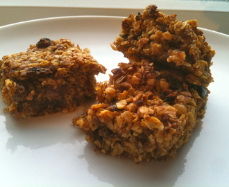 Sugar Free Flapjack for babies, toddlers and adults