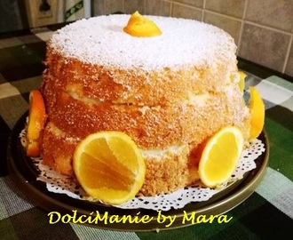 Chiffon Cake all'arancia – DolciManie By Mara