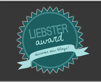 Here comes Liebster Award