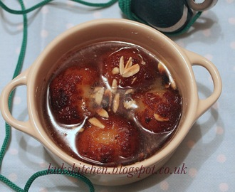 Gulab Jamun {recipe no 1} using milk powder: An indian sweet fit for the kings   |  Kukskitchen
