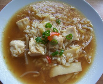Thai Chicken Rice Soup