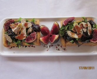 COQUES DE FOE I FIGUES - FOIE AND FIGS 'COCA'