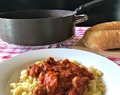 Sausage and Beef American Goulash