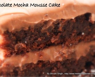 +Chocolate Mocha Mousse Cake..;P (Egg less)