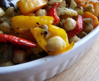 Neven Maguire's Roasted Vegetable and Chickpea Salad