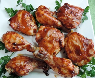 Baked Chicken with Hoisin Barbecue Sauce