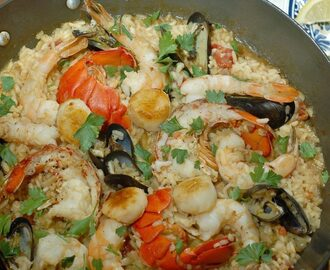 Seafood Risotto  #FishFridayFoodies