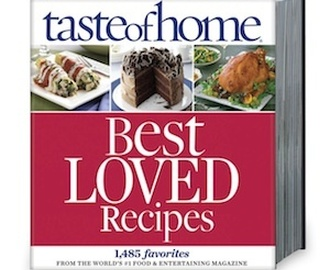 Taste of Home Best Loved Recipes...Review