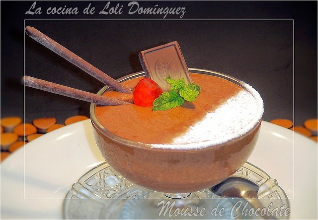 Mousse de chocolate facil