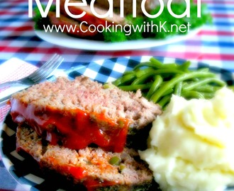 Grandmother's Old Fashioned Meatloaf {Cooked In A Cast Iron Skillet}
