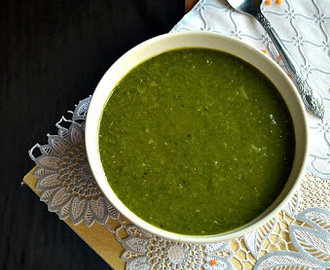 Dhal Palak/Palak Dhal/Spinach with Lentil