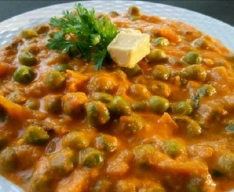 Green Peas Masala – North Indian  Panjabi Style Recipe