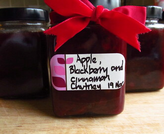 Lorraine Pascale's Apple, Blackberry and Cinnamon Chutney