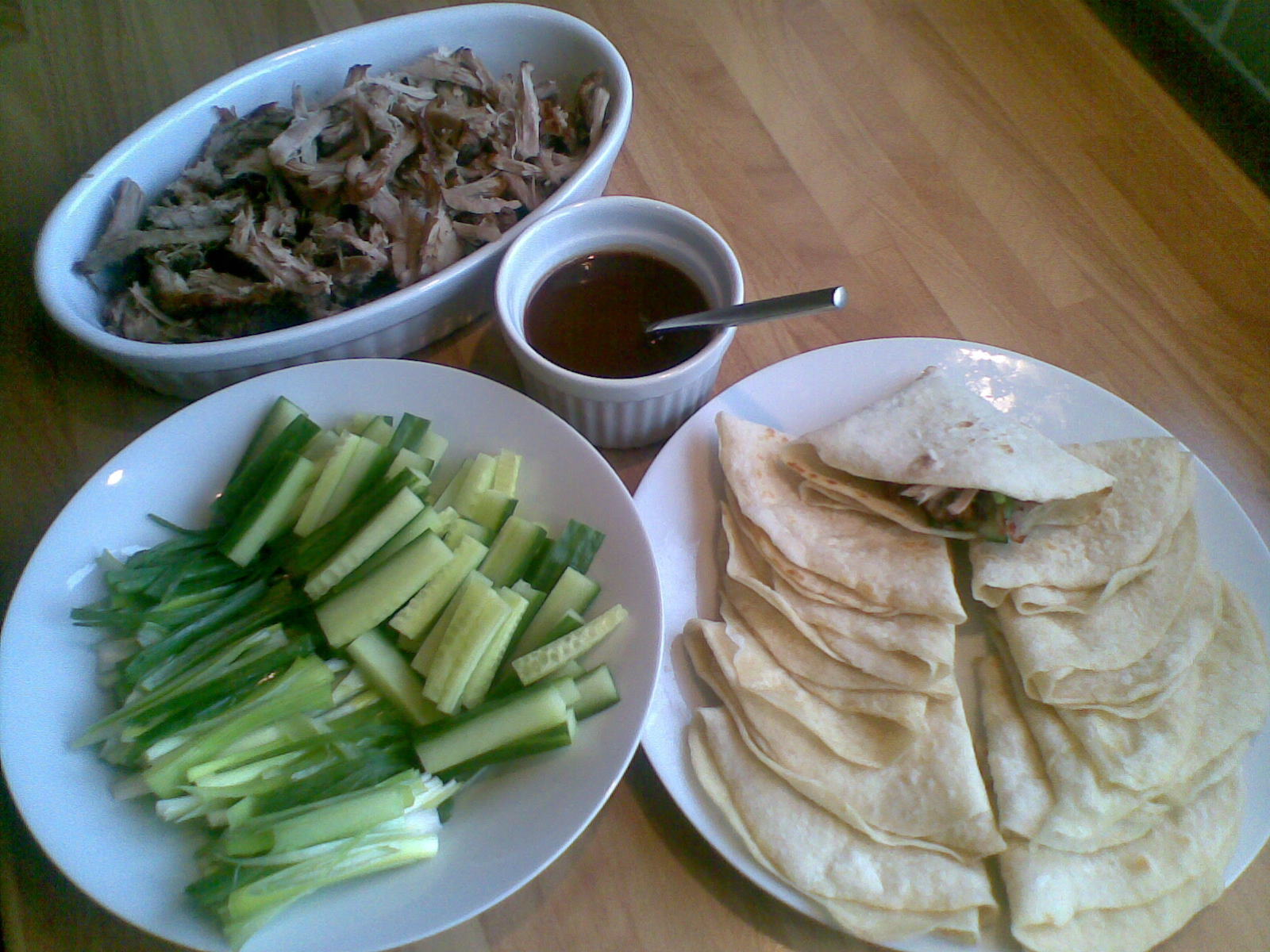 Crispy Pork with Chinese Pancakes