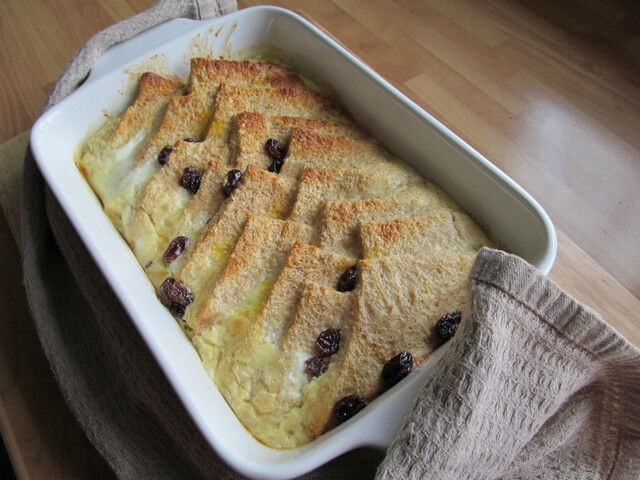 Old Fashioned Bread and Butter Pudding