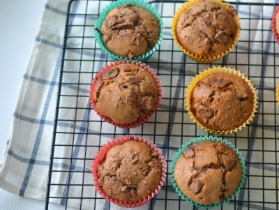Chocolate Chip and Milo Muffins