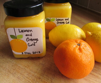 Easy Lemon and Orange Curd